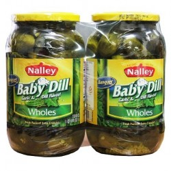 Nalley Whole Baby Dills 1L X 2ea