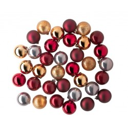 [IKEA] VINTER 2015 Decoration, bauble, assorted red colours