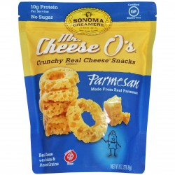 SONOMA CREAMERY Mr. Cheese O's Real Cheese Snacks (Parmesan)